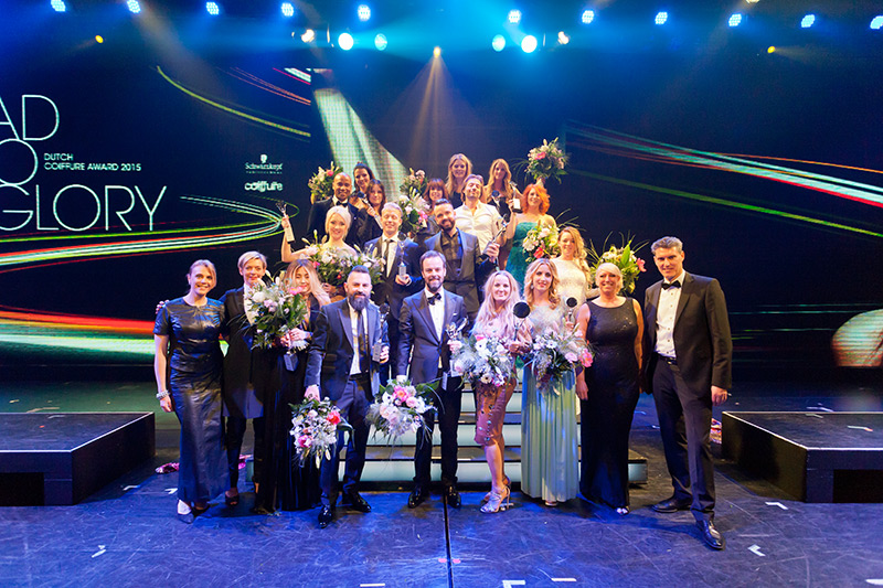 Icon show op Coiffure Award