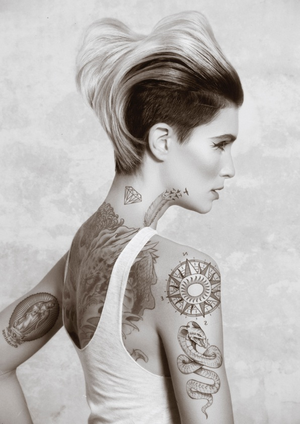 TATTOO GIRLS by Matt Swinney