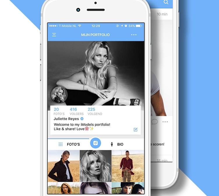 Model zoeken via een app