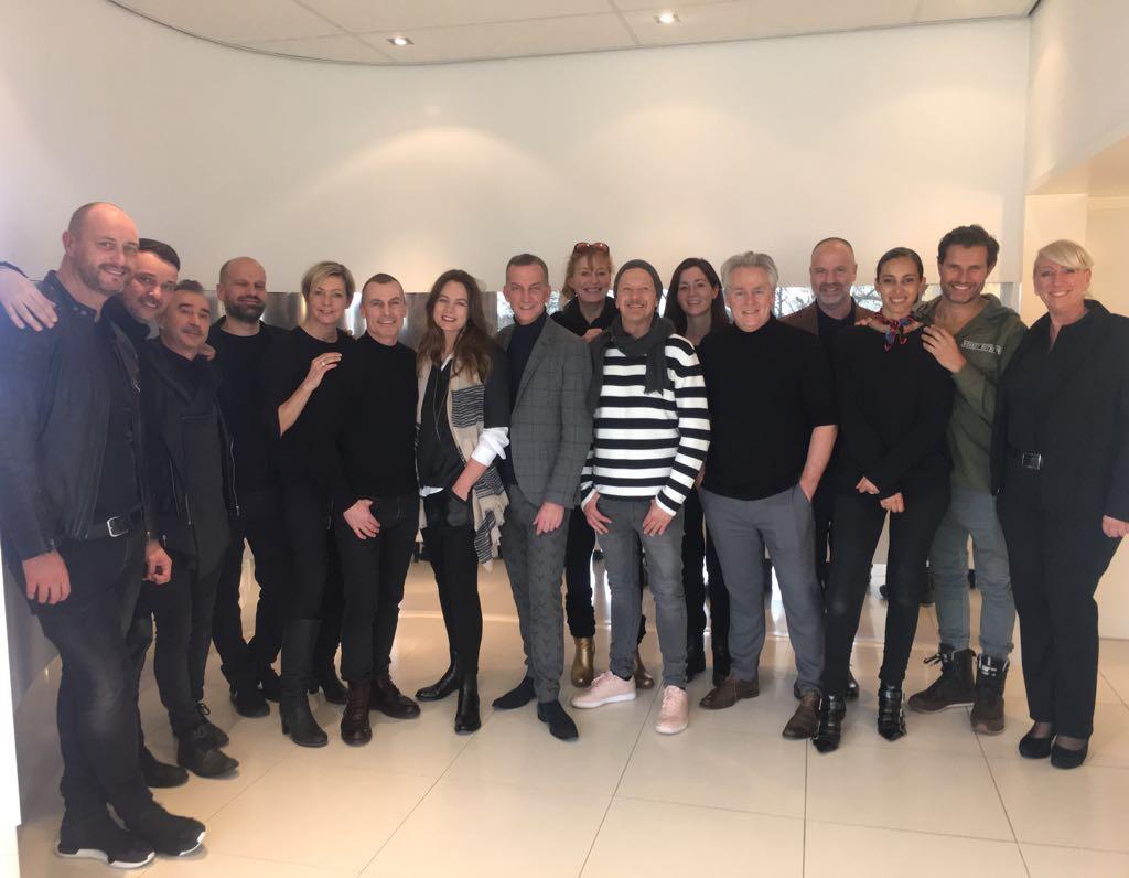 Impressie jurering Coiffure Award 2017