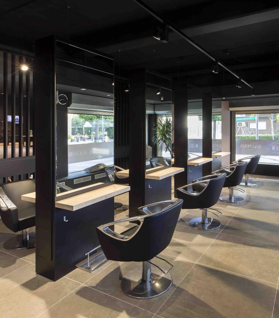 Interieur van de maand leander grotenhuis hairdressers - Interieur binnenkomst ...