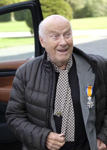 George Keune sr. heeft Koninklijk lintje gekregen