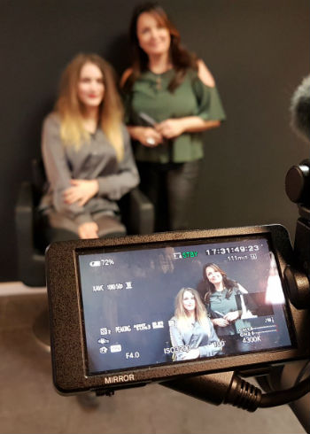 Deze week nieuw op Coiffure TV: Interview met Angel del Solar
