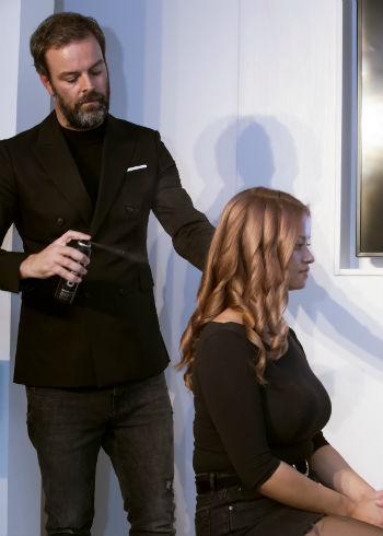 Hairdresser of the Year Arjan Bevers bij Spectrum