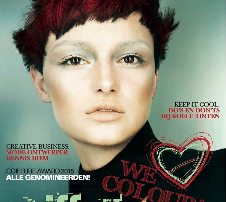Nieuwe COIFFURE: WE LOVE COLOUR