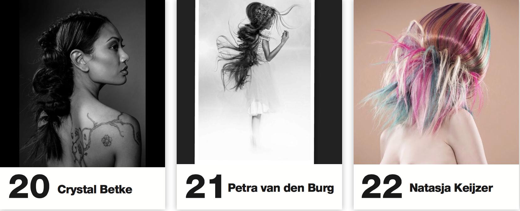 NL Hairartists wereldwijd 'in the picture'