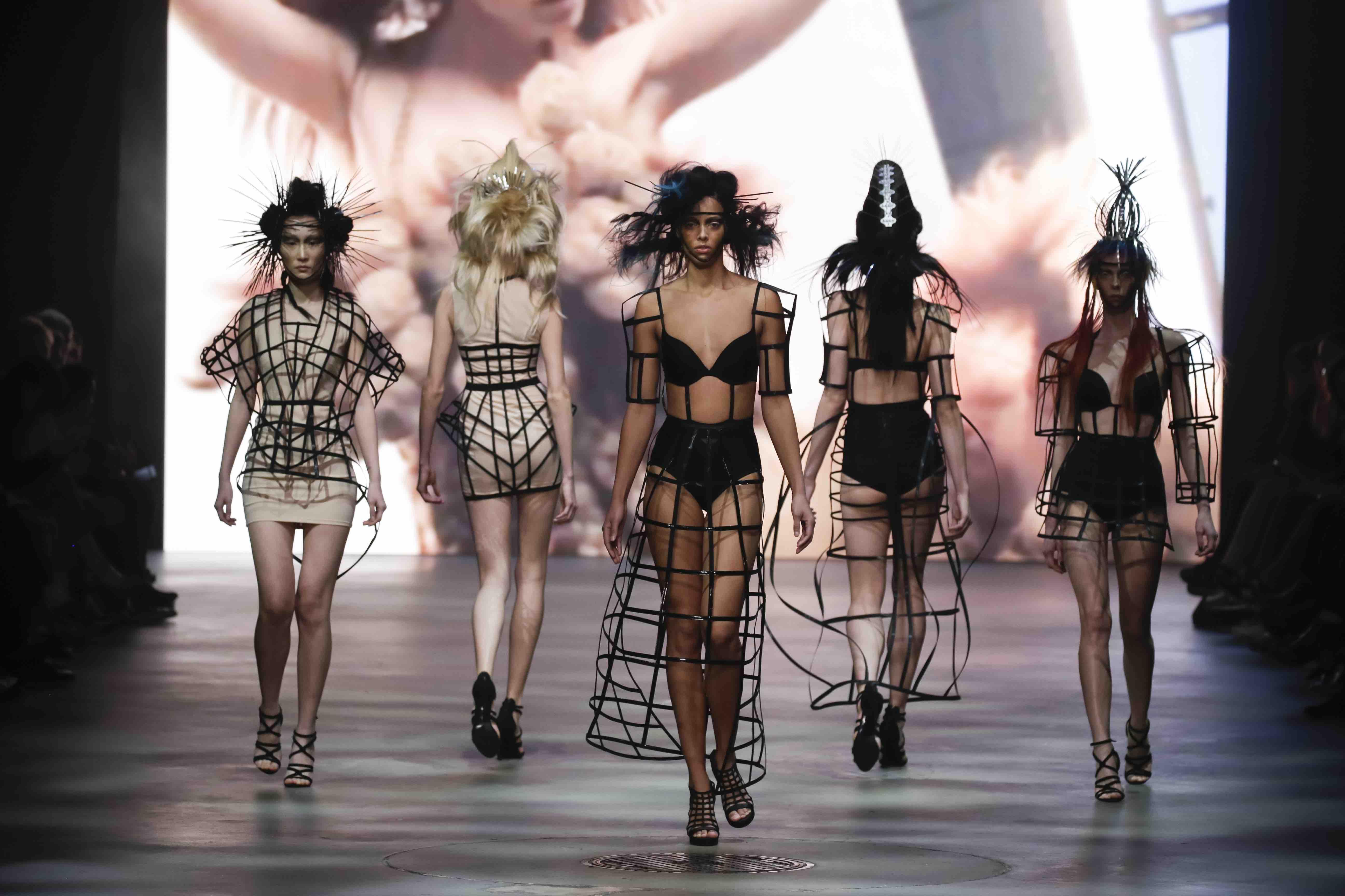 Zien: the Kao Hair Fashion Show!