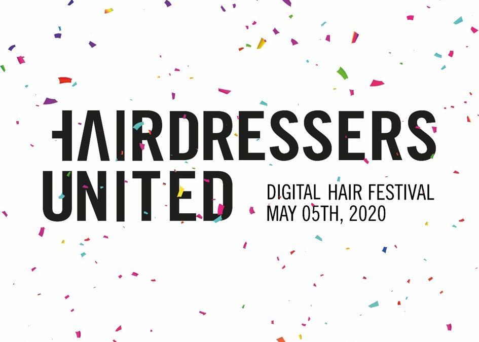 HAIRDRESSERS UNITED: Eerste digitale Hair Festival