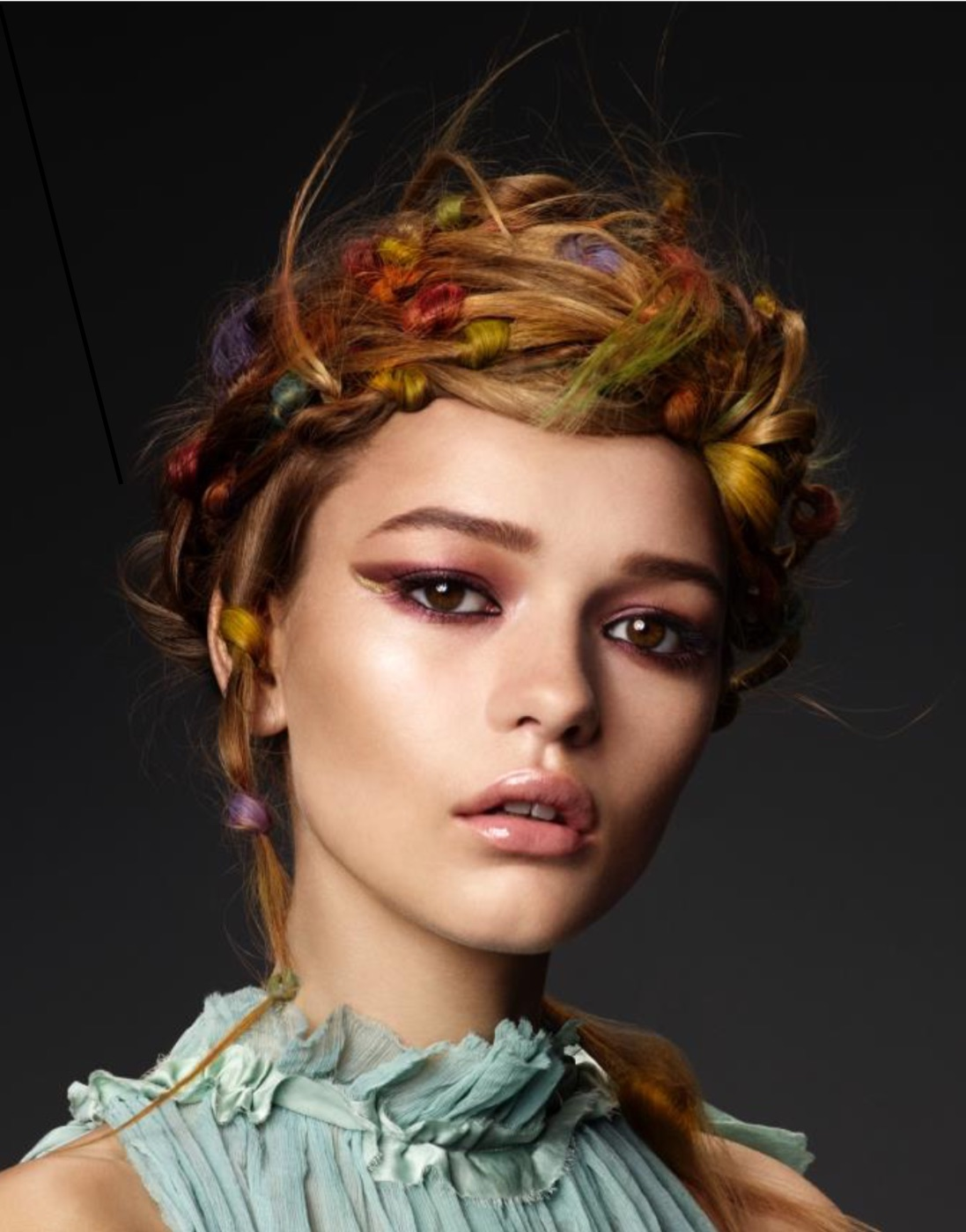#STAY INSPIRED: the rainbow look