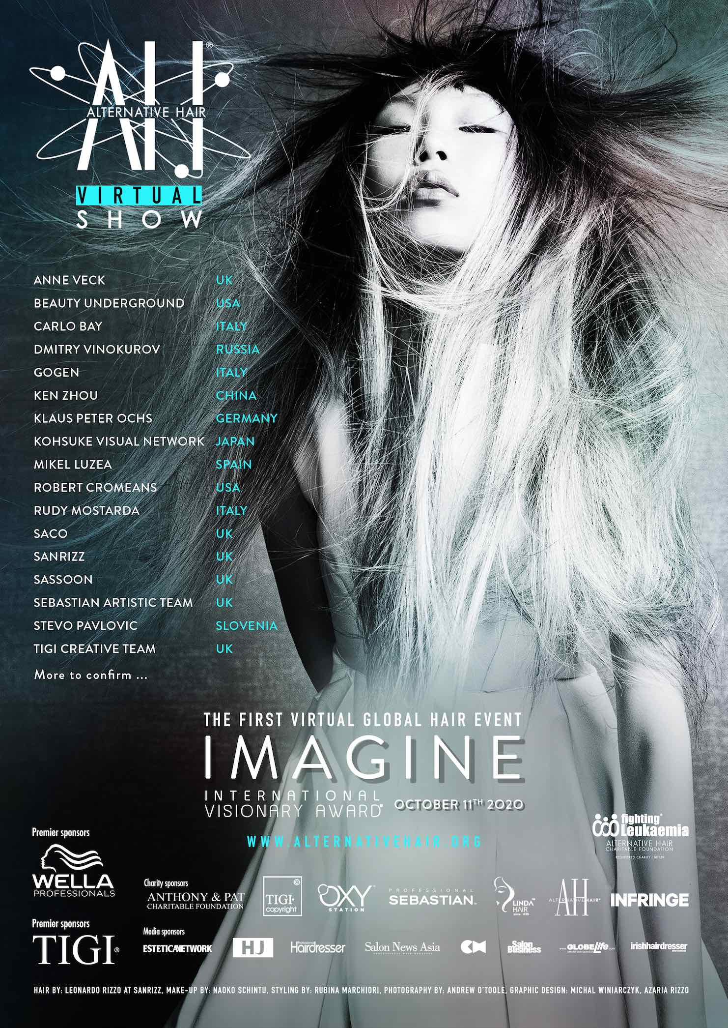 ONDERTUSSEN IN DE UK: Salon International afgelast en Alternative Hair Show goes digital